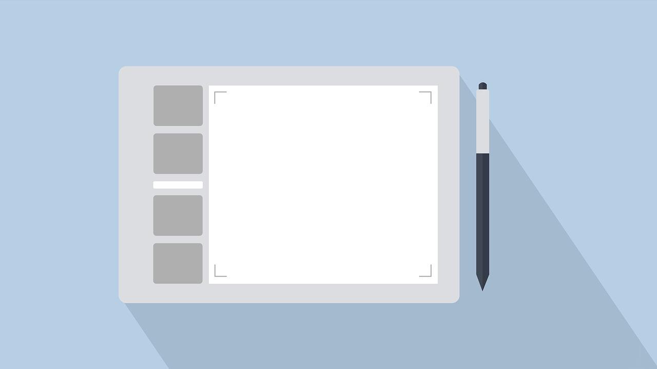 Een tekentablet is een goede aanvulling op je gear