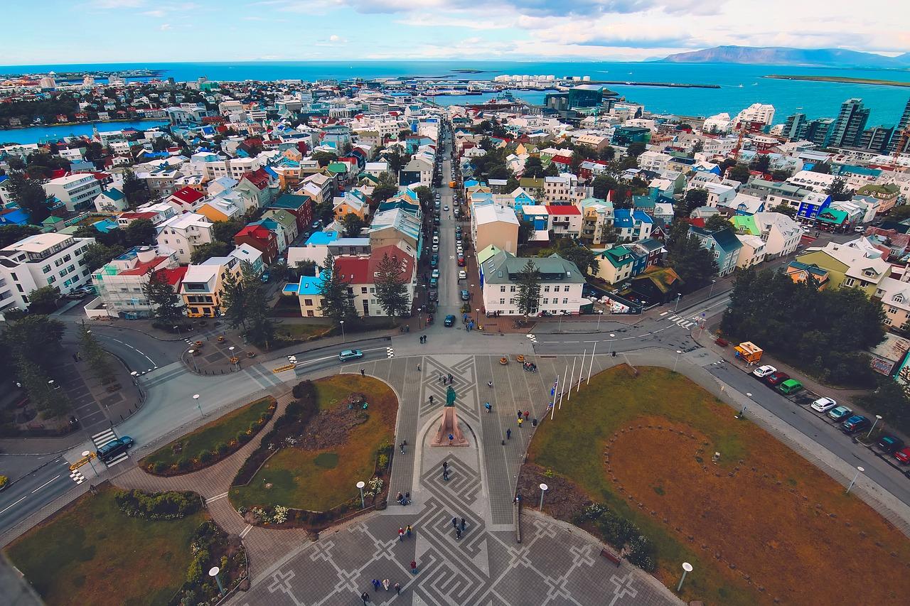 Net terug van een stedentrip Reykjavik
